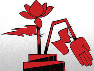 TheNCPhas dropped ideological fig leaf in its desperation over losing power in the only source of funding it has, by offering to support aBJPgovt.