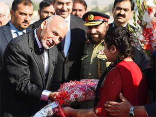 Ghani, who is on his first state visit to the country, was given a detailed briefing on the security situation along the porous Pak-Afghan border.