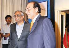 Kishore Biyani and Harsh Mariwala