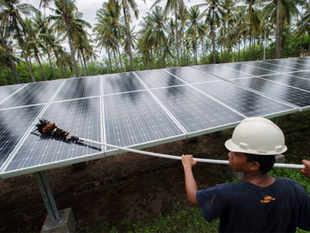 The Cabinet approved setting up of 25 solar parks of 500 MW capacity each, as also Ultra Mega Solar Power Projects, which will require financial support of Rs 4,050 crore.