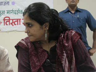 Setalvad, who appeared before the officials around 11 am, was quizzed for about seven hours, crime branch sources said.