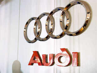 Audi sold 10,851 cars and sport-utility vehicles in India in the past year, up about 8.5% from the previous year.  Merc's sales rose more than 13% to 10,201 vehicles.