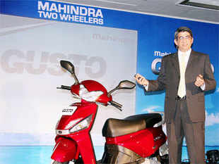 The two-wheeler arm of the Mahindra Group in October 2014 made a binding offer to acquire a 51% stake in Peugeot Motorcycles.