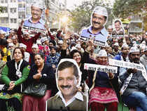 AAPwill get 36-40 seats in the assembly with a vote share of 49% whileBJPwill win 28-32 seats, says the survey conducted in the last week of Jan.