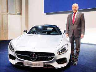 new car launches may 2015MercedesAMG GT likely to be launched this year  The Economic Times
