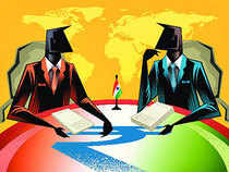"""Envoys of 6 world powers -- US, Japan, China, Britain, Germany and Canada -- hailed India's emergence as a major player at the """"global high table""""."""
