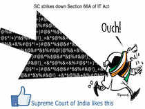 Chandrashekhar had argued that Section 66A was unconstitutional because in the name of securing the internet and in the name of preventing the abuse of internet.