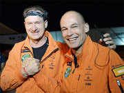 The world of Solar Impulse 2 through the pilots' eyes
