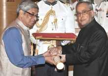Bibek Debroy conferred with the Padma Shri Award