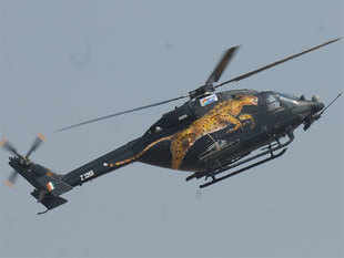 """""""These helicopters have been test flown and accepted by Afghanistan pilots on15thApril,"""" the minister said in a written reply to PNagarajaninLokSabha."""