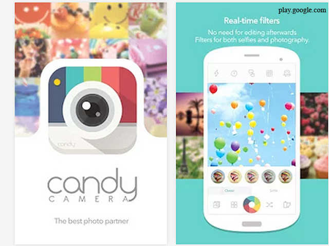 Candy Camera (Android) - Best selfie apps for all phones | The ...