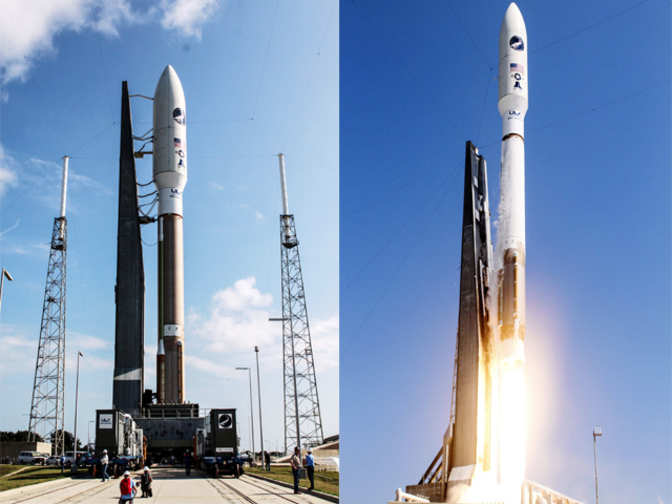 atlas v rocket sends unmanned 39 mini space shuttle 39 into. Black Bedroom Furniture Sets. Home Design Ideas