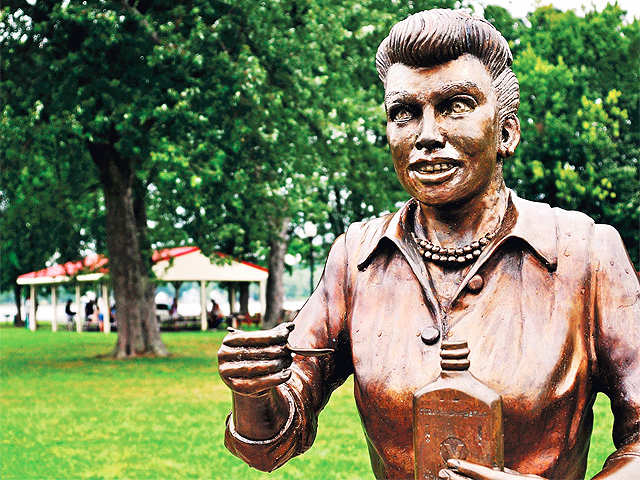 Businessman donates $20k to replace 'Scary Lucy' statue