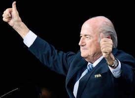 Sepp Blatter wins 5th FIFA term despite bribery row