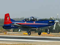 Currently the IAF uses the Swiss Pilatus aircraft as its basic trainer. 75Pilatus PC-7 Mark-II trainers have been ordered for the IAF in a Rs.2,800 crore deal.