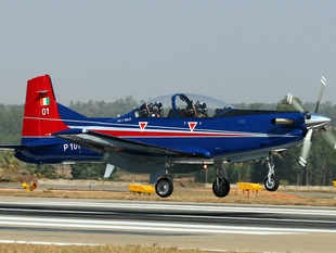 Currently the IAF uses the Swiss Pilatus aircraft as its basic trainer. 75 Pilatus PC-7 Mark-II trainers have been ordered for the IAF in a Rs.2,800 crore deal.