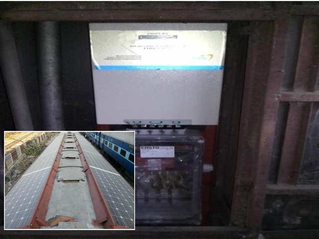 Indian Railways Begins Trials Of Solar Powered Trains