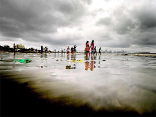 The monsoon has galloped in the past three days, boosting this season's total rainfall to a soothing 11% higher than normal.