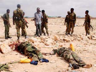 Image result for police offices killed in somalia