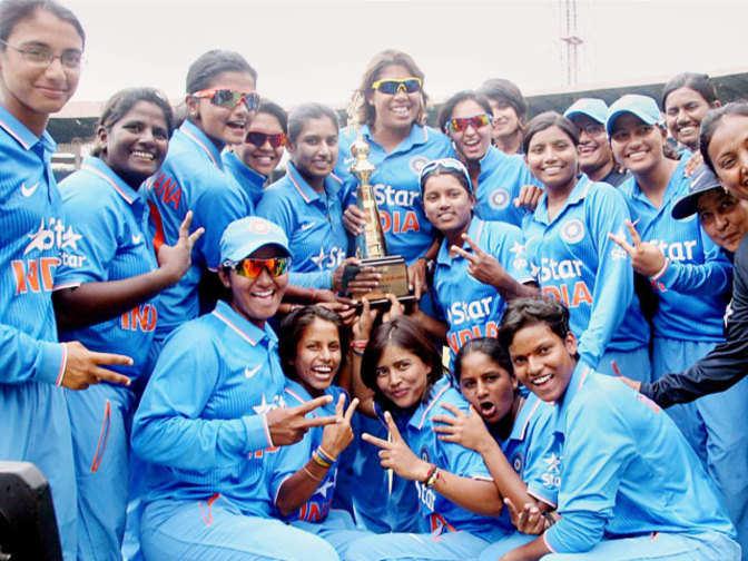 Indian women's cricket team defeats New Zealand in final ...
