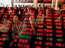Falling stock markets in China
