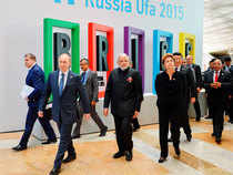 A characteristic of this year's BRICS summit at Ufa was the economic and trade cooperation, especially the collaboration of development strategy among the BRICS members.