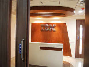 India was the sole emerging market bright-spot in IBM's second-quarter earnings, as the other BRIC countries weighed down the technology giant's results.