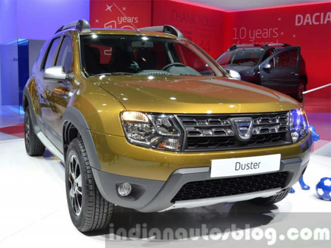 renault launches updated version of dacia duster with. Black Bedroom Furniture Sets. Home Design Ideas
