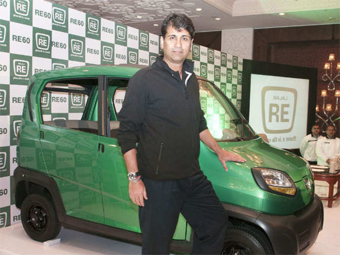 bajaj new car releaseBajaj Auto to launch quadricycle Qute in 16 countries at a price