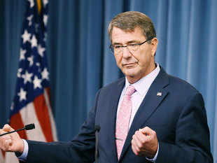 US defense chief Ashton Carter warns Russia