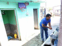Nearly 95 lakh toilets have been constructed in rural areas during the first year of the Swachh Bharat mission, Union Minister Birender Singh Chaudhary today said as he emphasised on the need for innovative thinking to stop the old practice of open defecation.