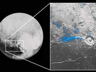 ice on pluto planet