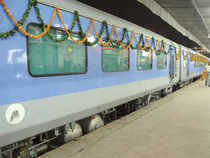 The two-day rail tour package to Agra and Jaipur from Delhi is an initiative in which train tickets in three Shatabdi Express have been linked.