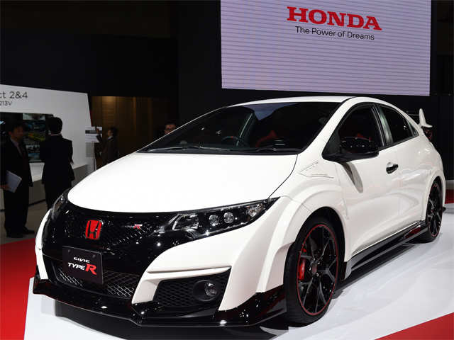 honda civic type r   tokyo motor show some super cool cars you cannot