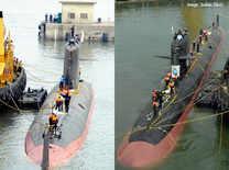 'Kalvari' submarine set afloat