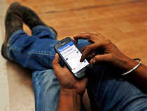 The social networking site can have positive and negative effects on the levels of a common stress hormone in teenagers.