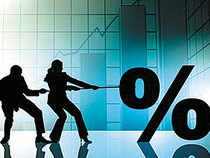 On a credit card interest rates range anywhere from 30% to over 40 % per annum, while a personal loan can come between 18 to 24 %.