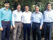 Nexus recently raised its fourth fund of $450 million, becoming the largest homegrown venture capital firm with assets under management of nearly $1.2 billion. From Left: Nexus Venture Partners' managing directors Jishnu Bhattacharjee, Sandeep Singhal, Suvir Sujan, Naren Gupta and Anup Gupta.