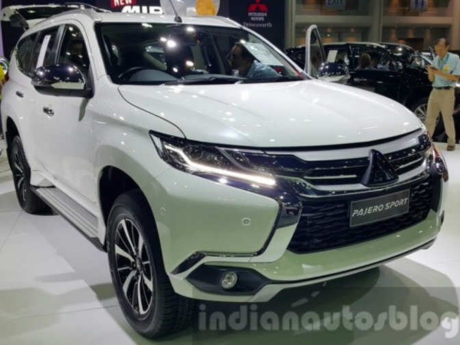 India-bound 2016 Mitsubishi Pajero Sport - Mitsubishi Pajero Sport | The Economic Times