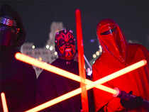"""Raymond Chatfield, walked out of a premiere of """"Star Wars: The Force Awakens"""" on Thursday night and shouted out a major spoiler in front of at least 100 people. (Representative image)"""