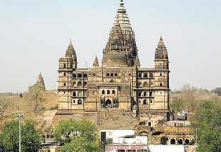 Discovery of monuments at Orchha