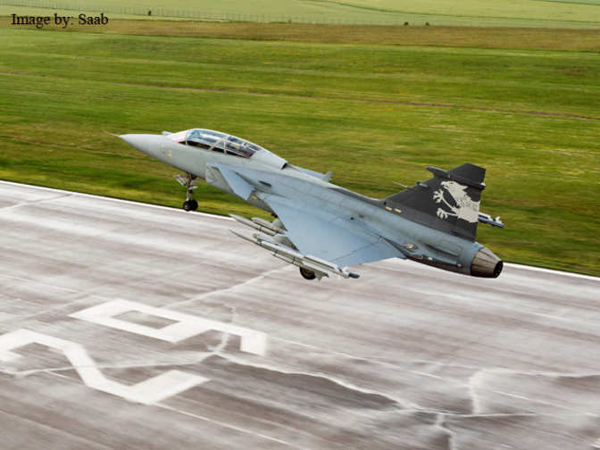 Saab Offers Gripen Fighter Jets Under Make In India