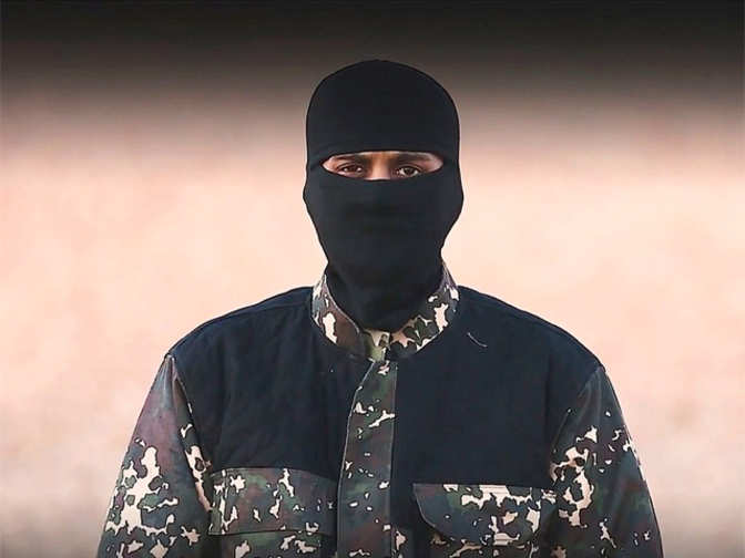 Terrorist in new ISIS video may be of Indian-origin