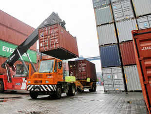 In 2008-09, the country's outbound shipments were less than $270 billion, according to exporters body Federation of Indian Export Organisations.