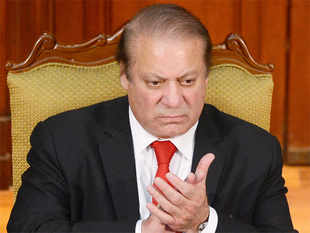 In pic: Pakistan PM Nawaz Sharif in Colombo on January 5, 2016.
