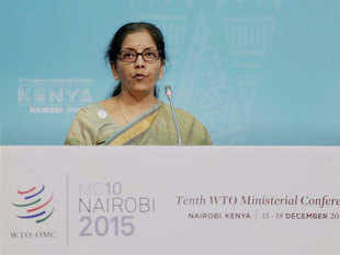 (Representative image) Commerce minister Nirmala Sitharaman said there is a need to review the pacts signed during the term of the previous government.