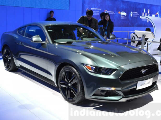 India Bound Ford Mustang Likely To Launch In 2016 India