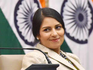 A roadmap to achieve this was launched by UK's Employment Minister Priti Patel (in pic) and KMC mayor Sovan Chatterjee in the state capital last week.