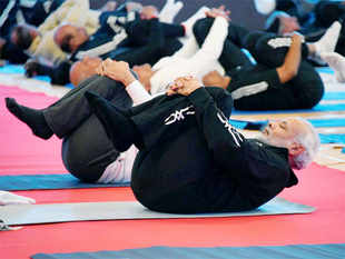 """The idea behind having a competition for yoga, which isn't generally regarded as a competitive sport, is to """"create a new generation (of yoga practioners)""""."""