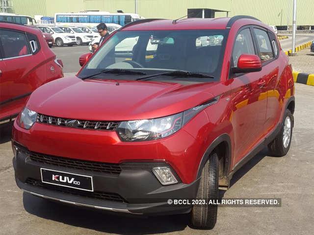 new car launches of mahindraMahindra launches all new microSUV KUV100 at Rs 442 lakhs